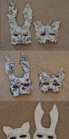 Splicer Masks by MariaSunshine