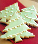 Christmas Tree Cookies by Night-core