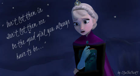 Elsa - Snow Queen by Gloriau