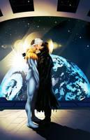 Apollo and Midnighter by BakaSara