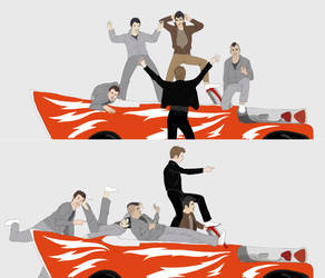 Glee Lightning by BakaSara