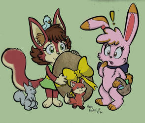 A Little Easter Kindness by ChibiBeckyG