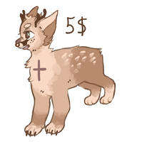Deerdog adopt CLOSED by baedopts