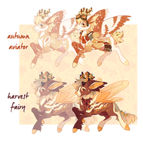 (CLOSED) Autumn Canters of Flight! by spottedfawns
