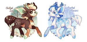 (CLOSED) Farewell To Winter by spottedfawns