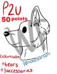 .: P2U - Chibi Doggo Base REDUCED :. by WinchesterFoxx