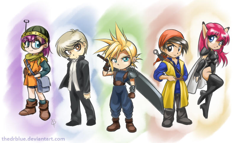 Five of the best RPGs that I know by TheDrBlue