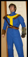 Fallout3 vault dweller costume by Vice552