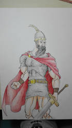 Scanderbeg (Albania's heroic figure) by thelost544