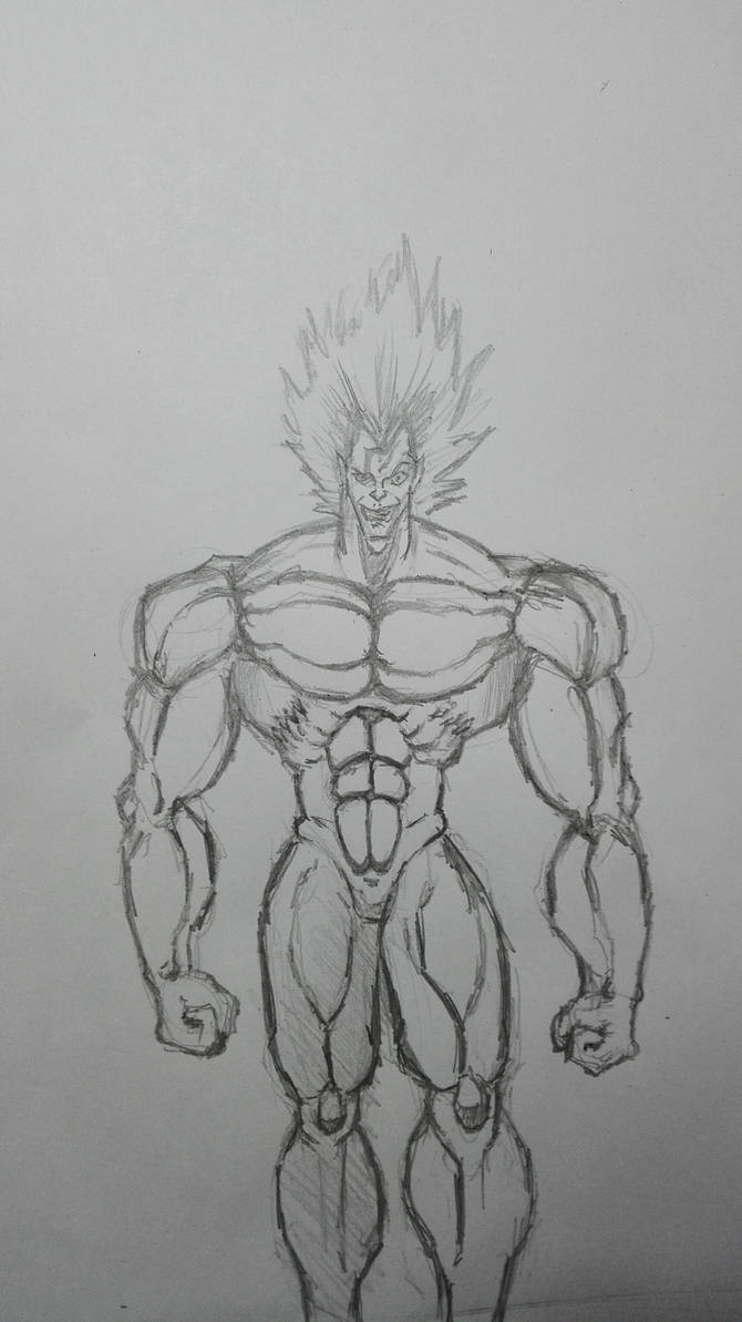 New tyle of drawing muscled up men by thelost544