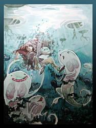 Nenuphards et petits monstres by OtaOtaTsuji