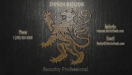 Business Card by rhodeder