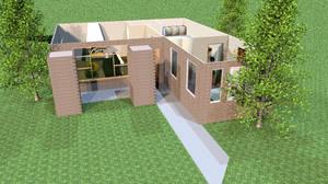 house 1 with trees by DaNoTomorrow
