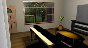 living room by DaNoTomorrow
