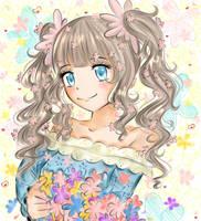 Flower girl by Monicherrie