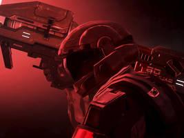Halo 3: ODST Army by Legendark