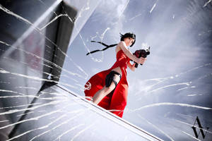Ada Wong (Resident Evil) V by AndyWana