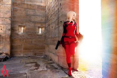 Lady Deadpool II by Black Cat by AndyWana