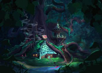Wizard Hut by coMceptArt971