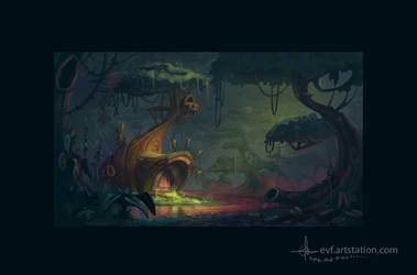 jungle by coMceptArt971