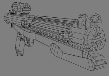 E-11 Blaster Rifle by RC-1290