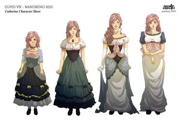 Cupid VN - Catherine Character Sheet by ameliori