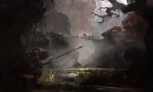 Black Lizards by PE-Travers