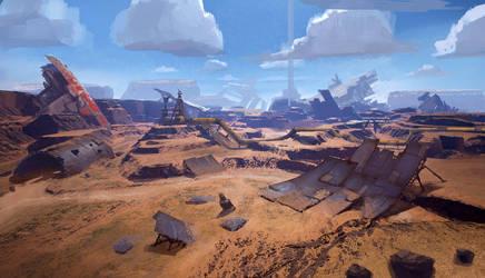 Ragequit Landscape by PE-Travers