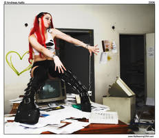 Office Girl by swedengoth