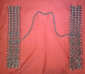 Stainless chainmaille Manacles / Shackles by Des804