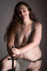 Chainmaille top and Loincloth by Des804