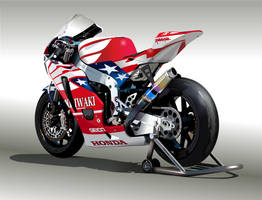 Honda Bike by edde