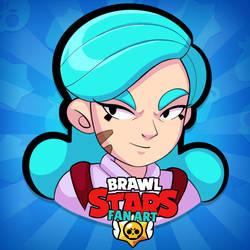 Pearl Brawl Stars character by JenL0hjelm