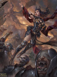 Phantom Queen Demery Adv by BillCreative