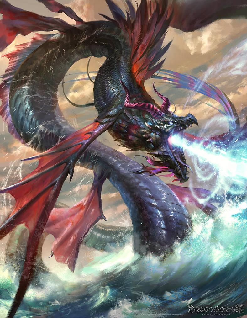 Ragetide Serpent by BillCreative
