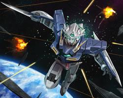 Gundam Exia by MaHenBu