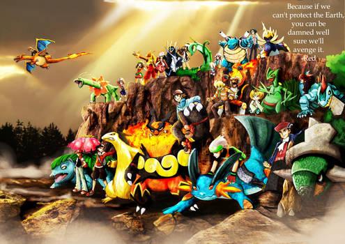 Pokemon: the avengers by badafra