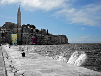 Sky over Rovinj by Dunkelkatze