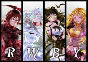 Team RWBY by bertalina