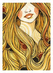 Girl with the Golden Hair by rhuu