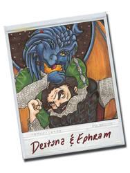 Dextana and Ephram by BrowncoatFiction