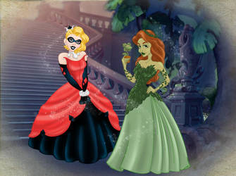 DC Princesses by BrowncoatFiction