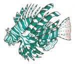 Technicolor Lionfish by BrowncoatFiction