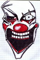 Evil Clown by maarda