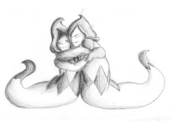 Hug Rudinn by PrinceofSilver