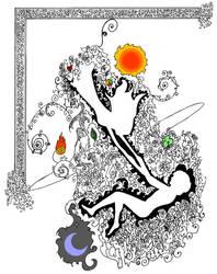 Cosmic Love - unfinished 2 by Kaleidoscope00eyes