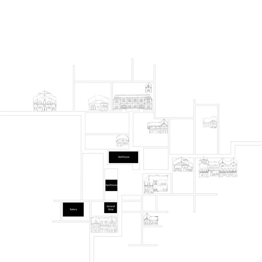 Crimson Rue: Town Overworld Map by noeinan