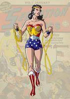 Golden Age Wonder Woman by trisaber