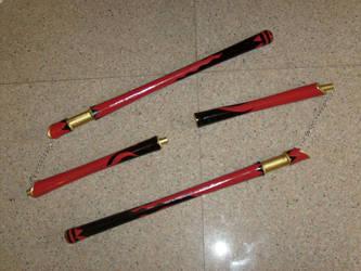 Genso Suikoden 5 staff nunchaku mode by Xianghua