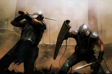 Gladiators by AndreeWallin